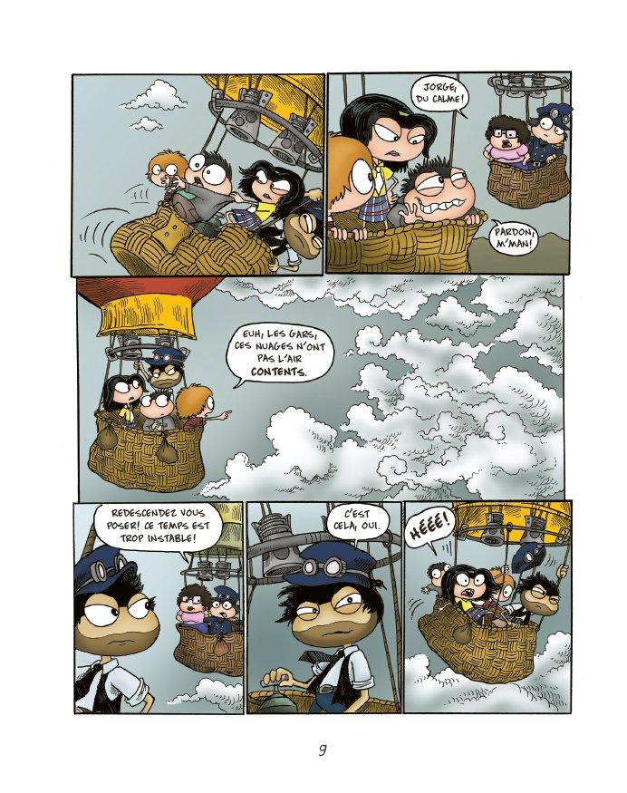 Extrait n°7 du comics tome 1 par Jack Chabert