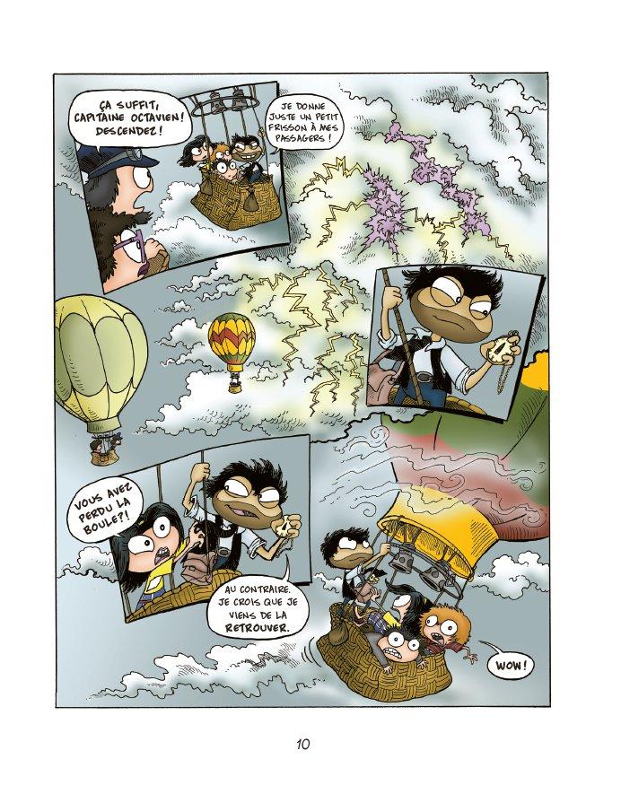 Extrait n°8 du comics tome 1 par Jack Chabert