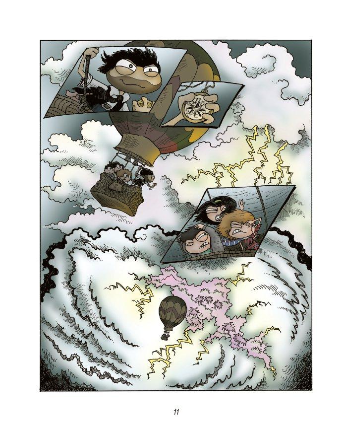 Extrait n°9 du comics tome 1 par Jack Chabert