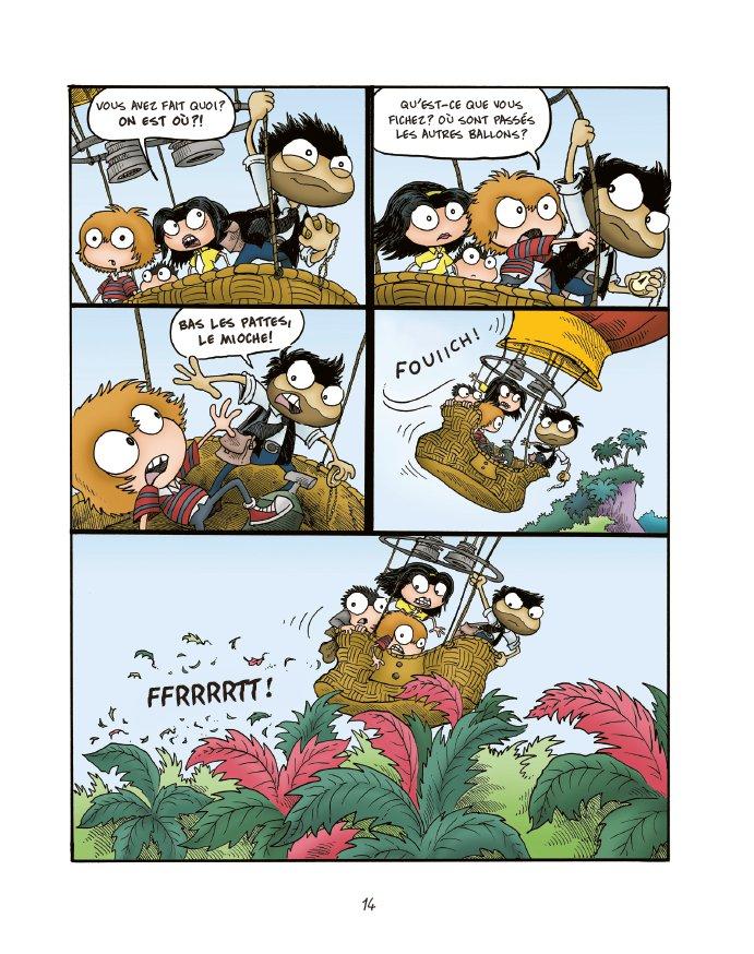Extrait n°12 du comics tome 1 par Jack Chabert