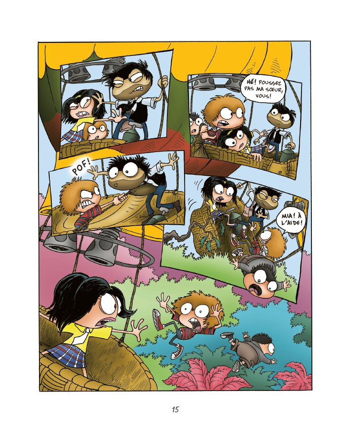 Extrait n°13 du comics tome 1 par Jack Chabert