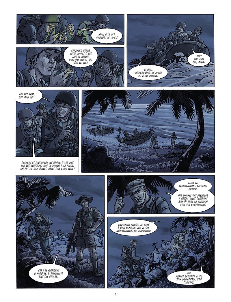 Extrait n°3 de la bd Black Sands par Tiburce Oger