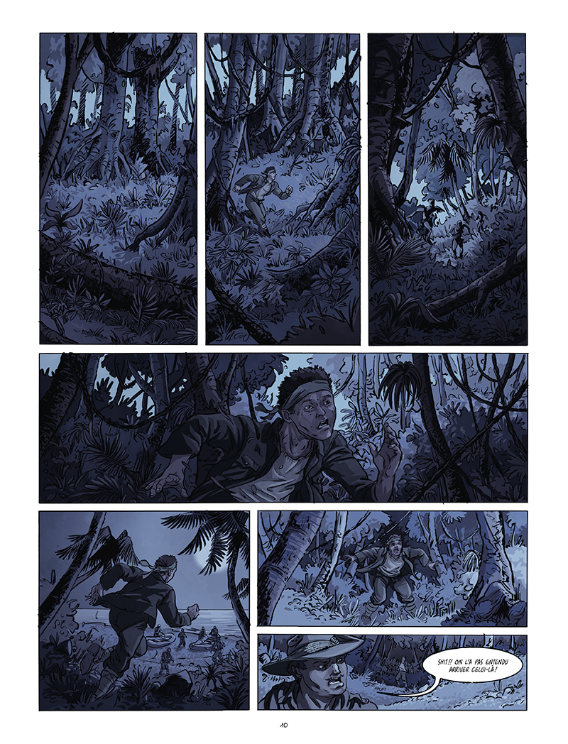 Extrait n°4 de la bd Black Sands par Tiburce Oger
