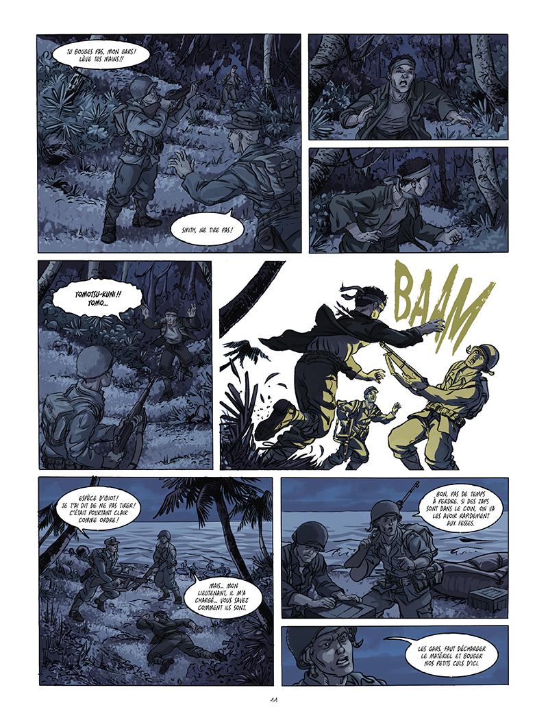 Extrait n°5 de la bd Black Sands par Tiburce Oger