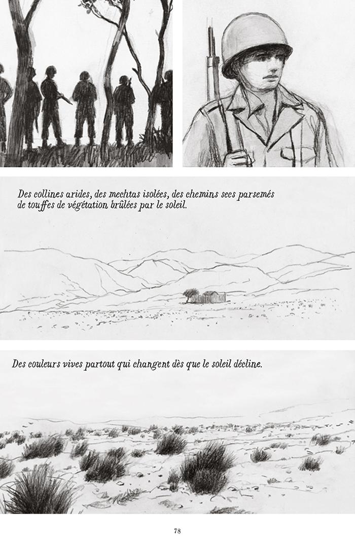 Extrait n°5 de la bd Soleil brûlant en Algérie par Alexandre Tikhomiroff
