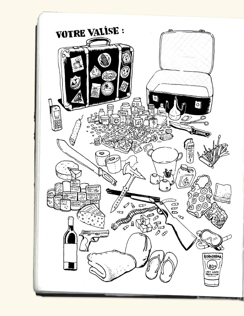 Extrait n°2 de la bd Mexique, El Guido del Crevardo par Camille Burger