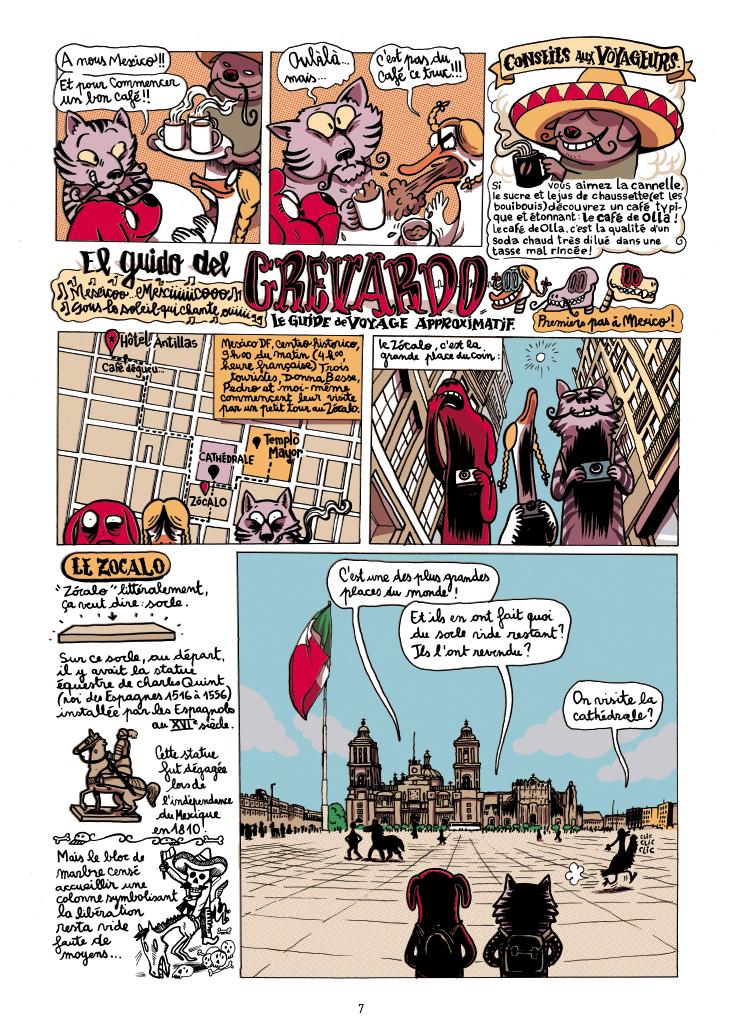 Extrait n°7 de la bd Mexique, El Guido del Crevardo par Camille Burger