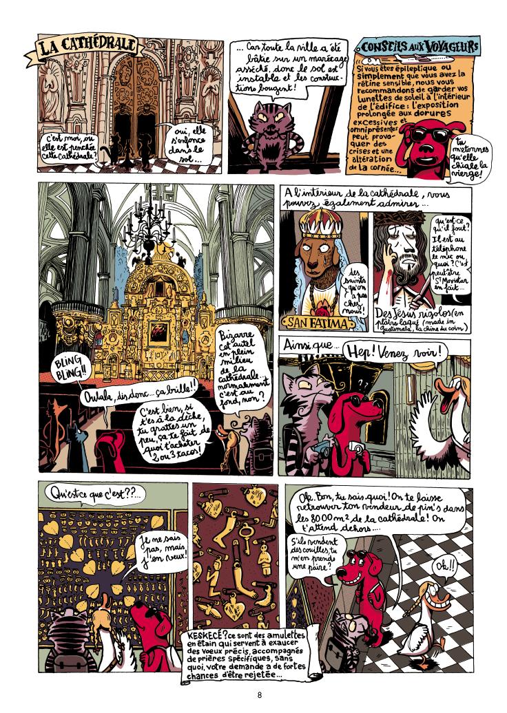 Extrait n°8 de la bd Mexique, El Guido del Crevardo par Camille Burger