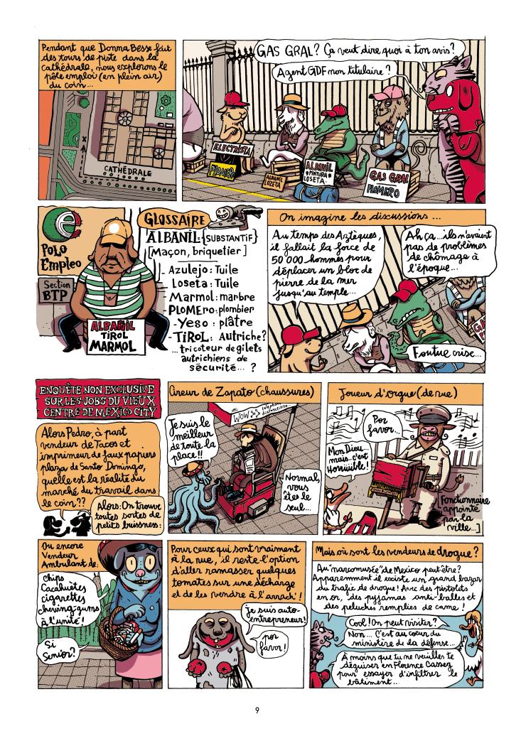 Extrait n°9 de la bd Mexique, El Guido del Crevardo par Camille Burger