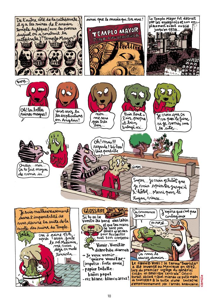 Extrait n°10 de la bd Mexique, El Guido del Crevardo par Camille Burger