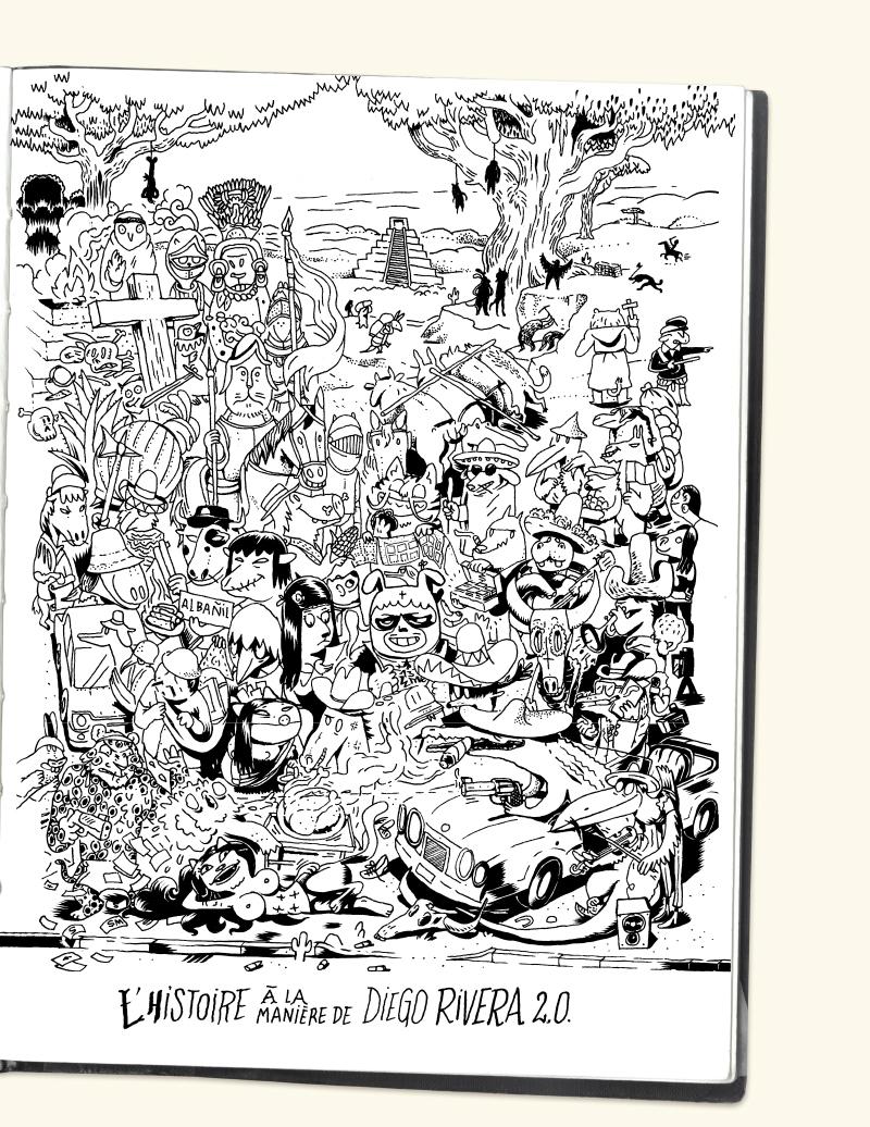 Extrait n°11 de la bd Mexique, El Guido del Crevardo par Camille Burger