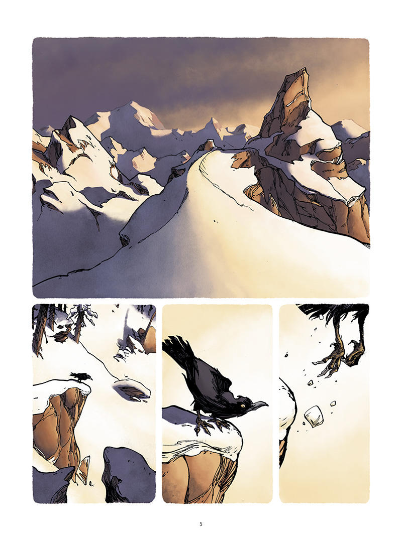 Extrait n°1 de la bd tome 1 par Frédéric Campoy