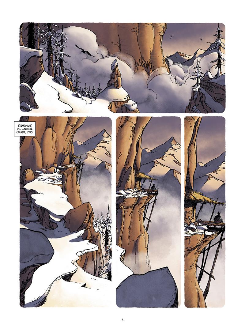 Extrait n°2 de la bd tome 1 par Frédéric Campoy