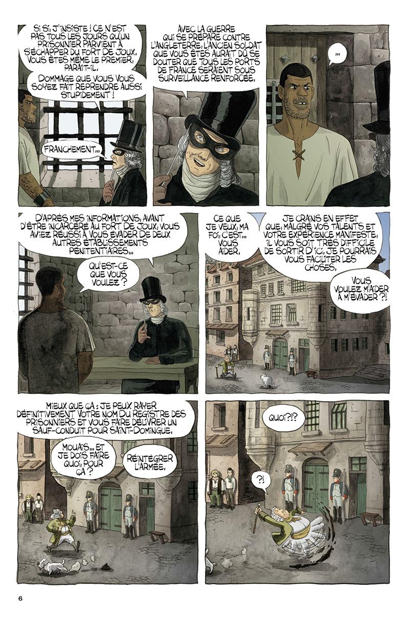 Extrait n°4 de la bd tome 1 par Régis Hautière