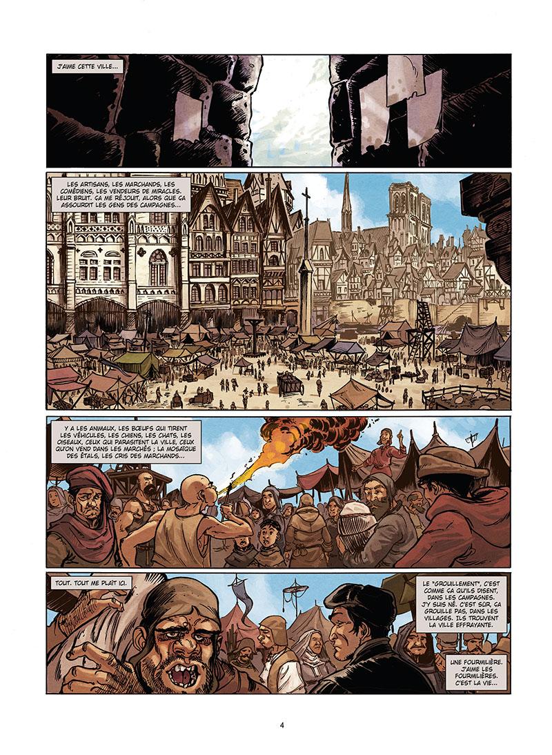 Extrait n°2 de la bd tome 1 par Mathieu Gabella