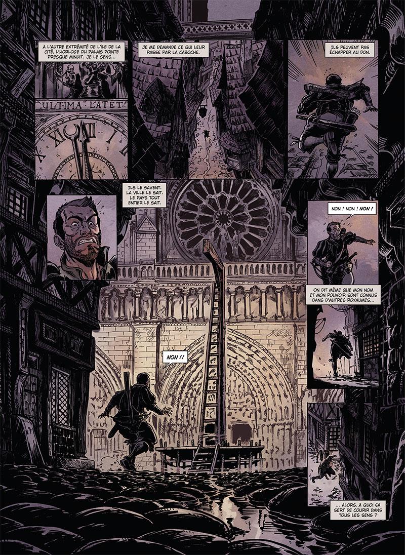 Extrait n°6 de la bd tome 1 par Mathieu Gabella