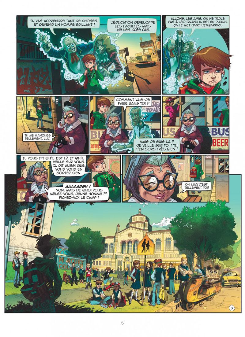 Extrait n°1 de la bd tome 1 par Kid Toussaint