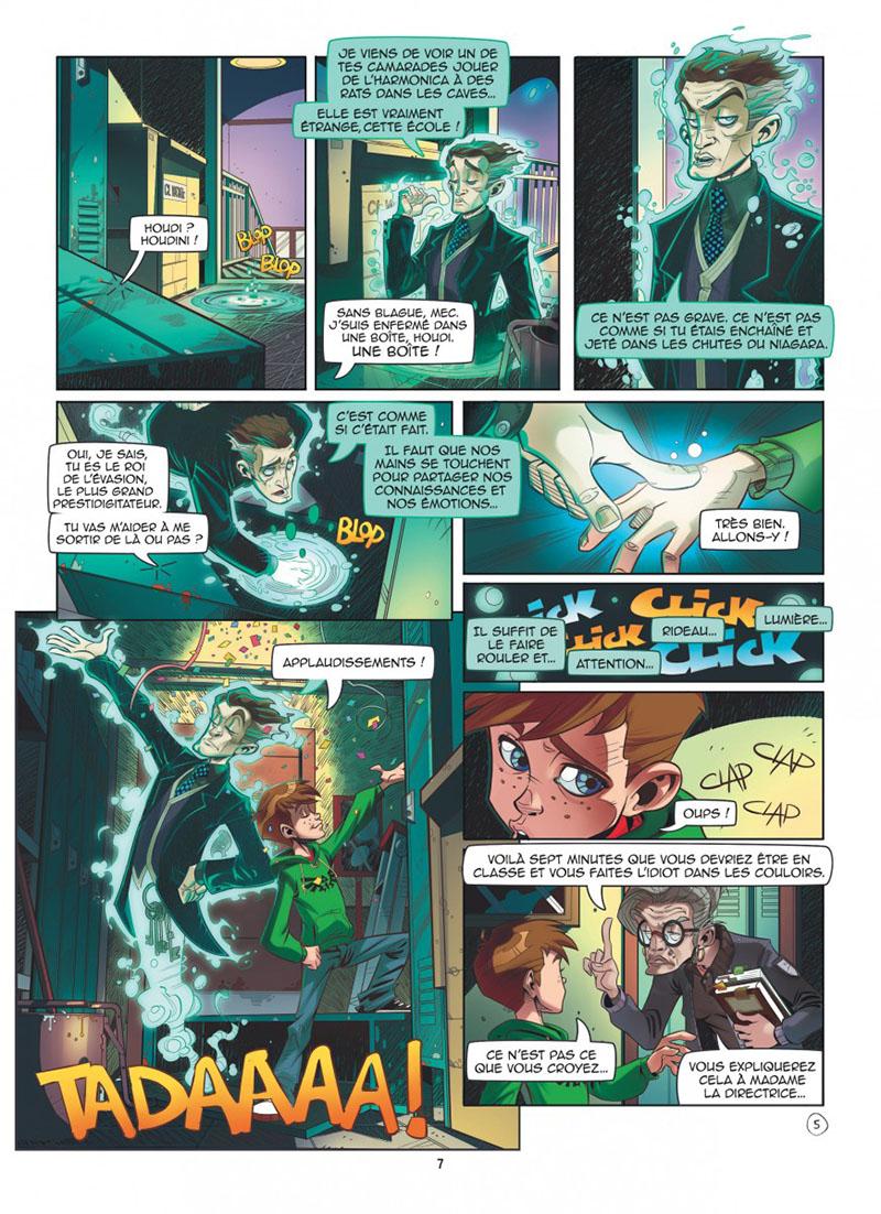 Extrait n°3 de la bd tome 1 par Kid Toussaint