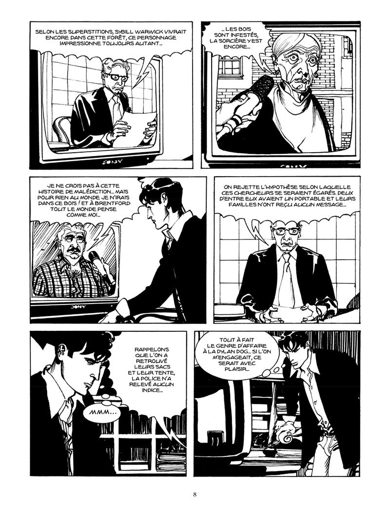 Extrait n°2 de la bd par Claudio Chiaverotti