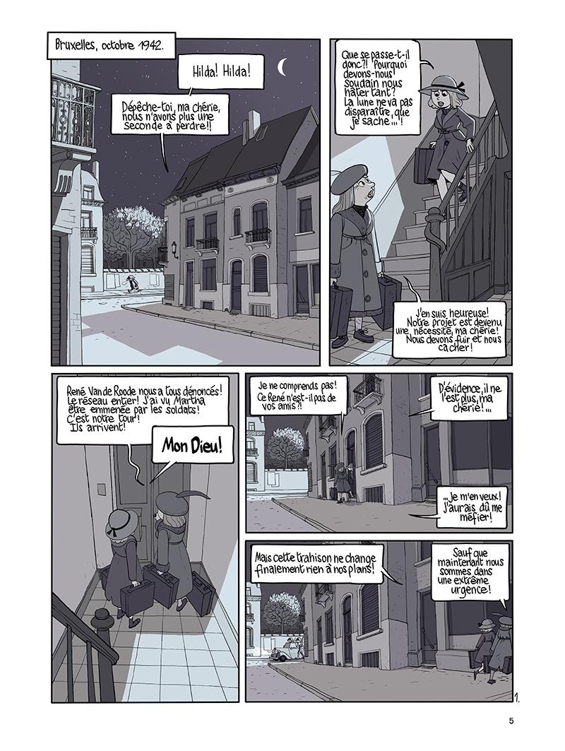 Extrait n°1 de la bd tome 9 par Benoît Feroumont