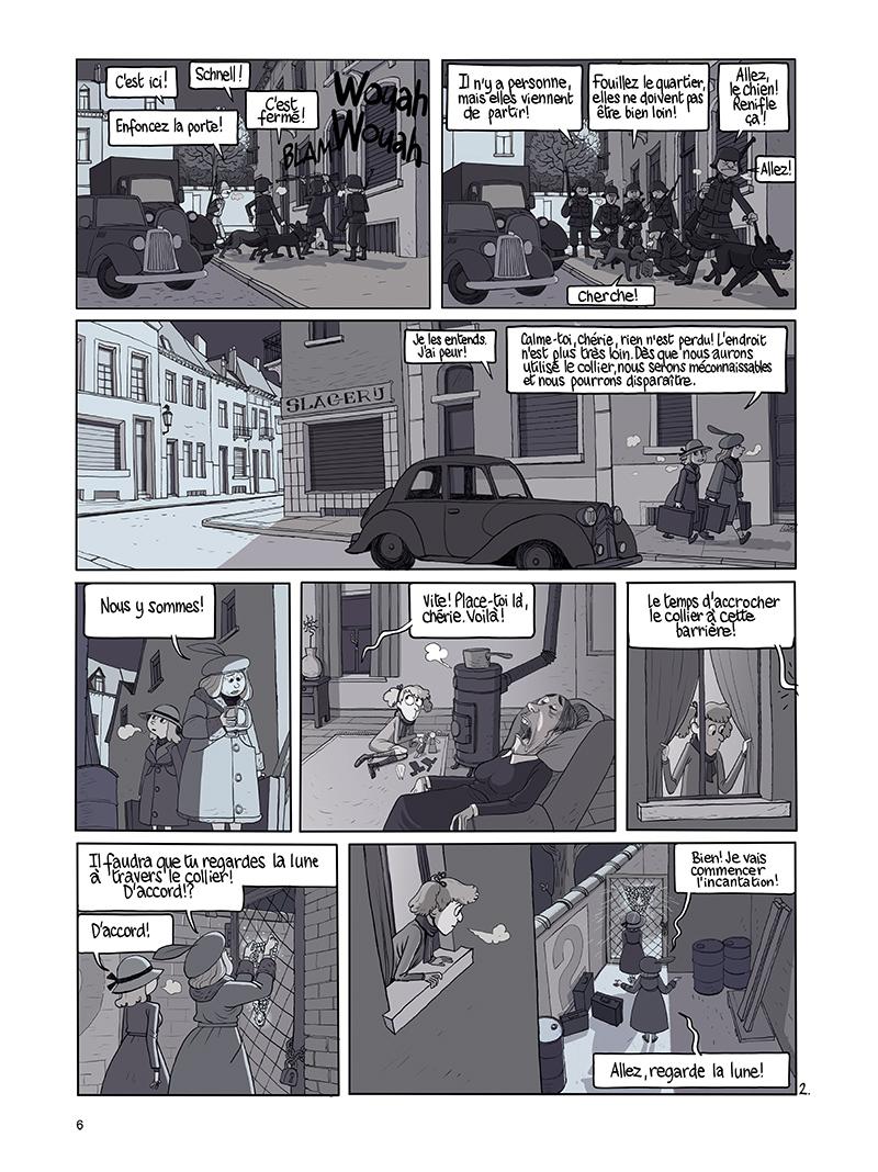 Extrait n°2 de la bd tome 9 par Benoît Feroumont