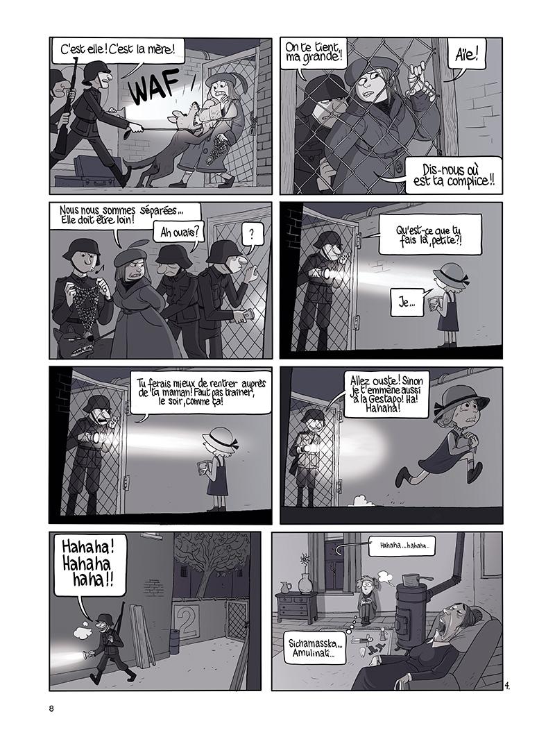 Extrait n°4 de la bd tome 9 par Benoît Feroumont