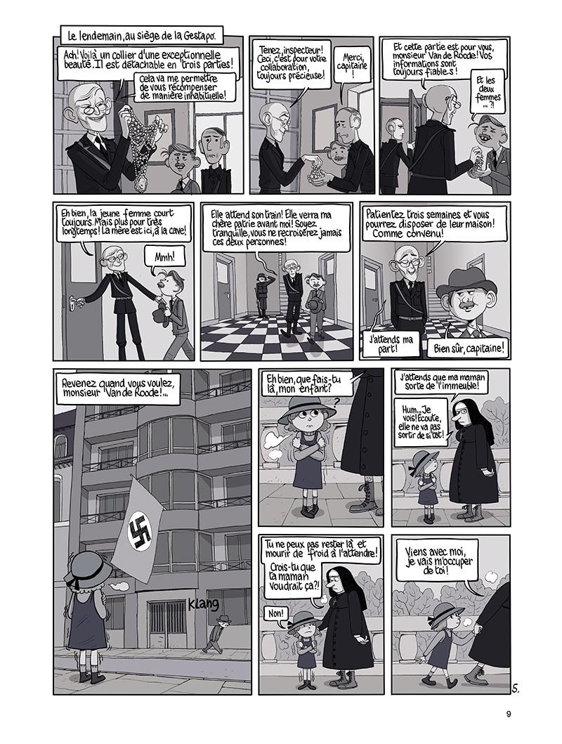 Extrait n°5 de la bd tome 9 par Benoît Feroumont