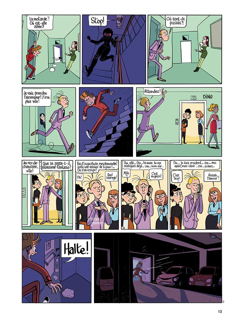 Extrait n°9 de la bd tome 9 par Benoît Feroumont