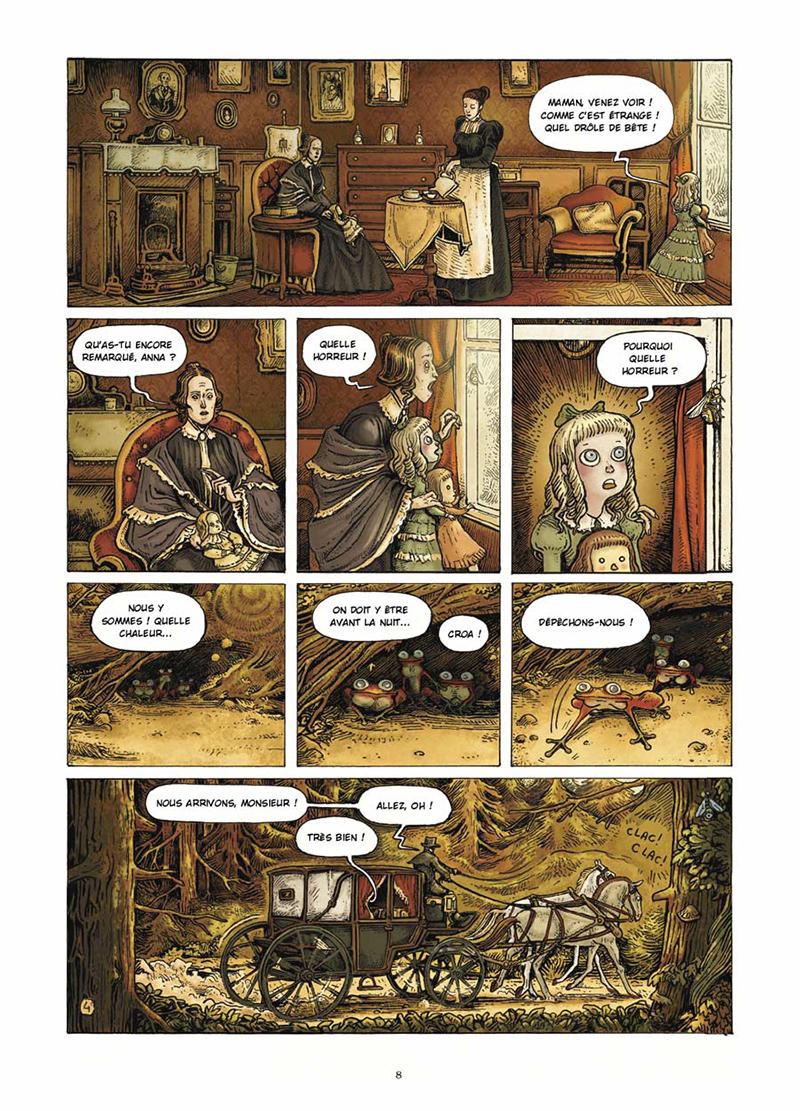 Extrait n°4 de la bd Dans la Forêt par Lionel Richerand