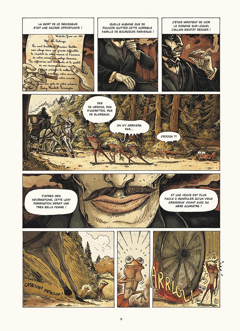 Extrait n°5 de la bd Dans la Forêt par Lionel Richerand