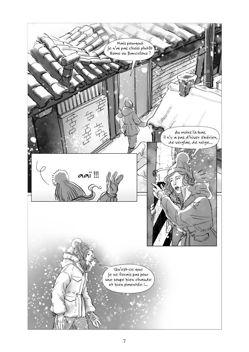 Extrait n°3 de la bd K-Shock par Christelle Pécout