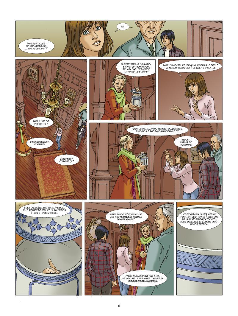 Extrait n°4 de la bd tome 2 par Nauriel