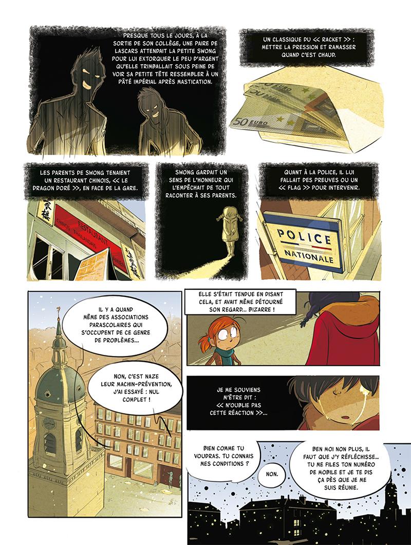 Extrait n°6 de la bd tome 1 par Greg Blondin