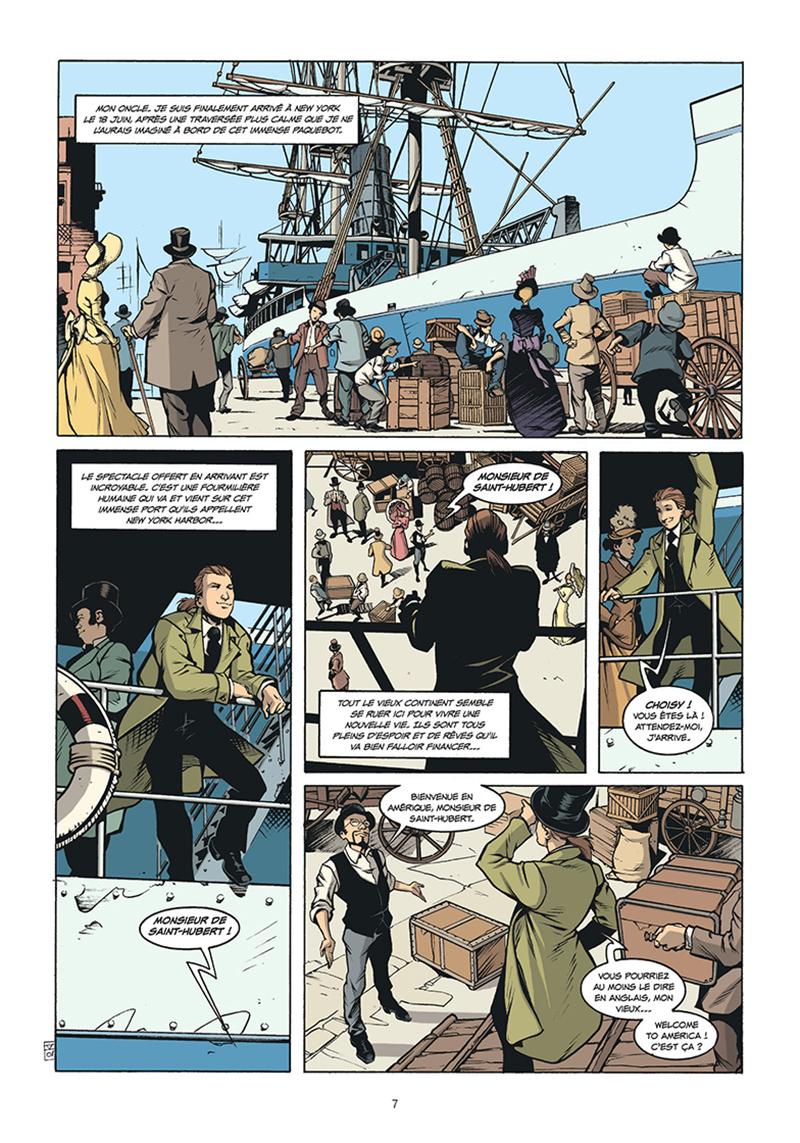 Extrait n°1 de la bd tome 5 par Pierre Boisserie