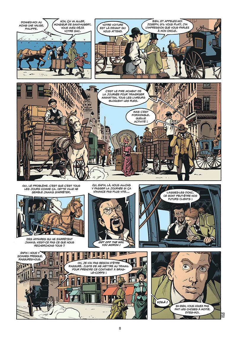 Extrait n°2 de la bd tome 5 par Pierre Boisserie
