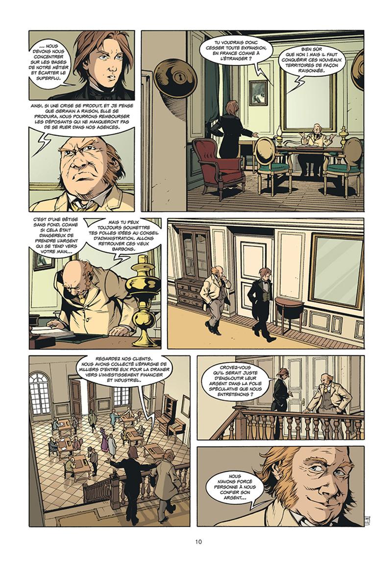 Extrait n°4 de la bd tome 5 par Pierre Boisserie