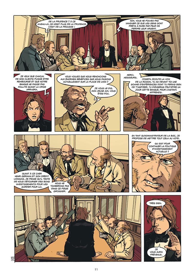 Extrait n°5 de la bd tome 5 par Pierre Boisserie