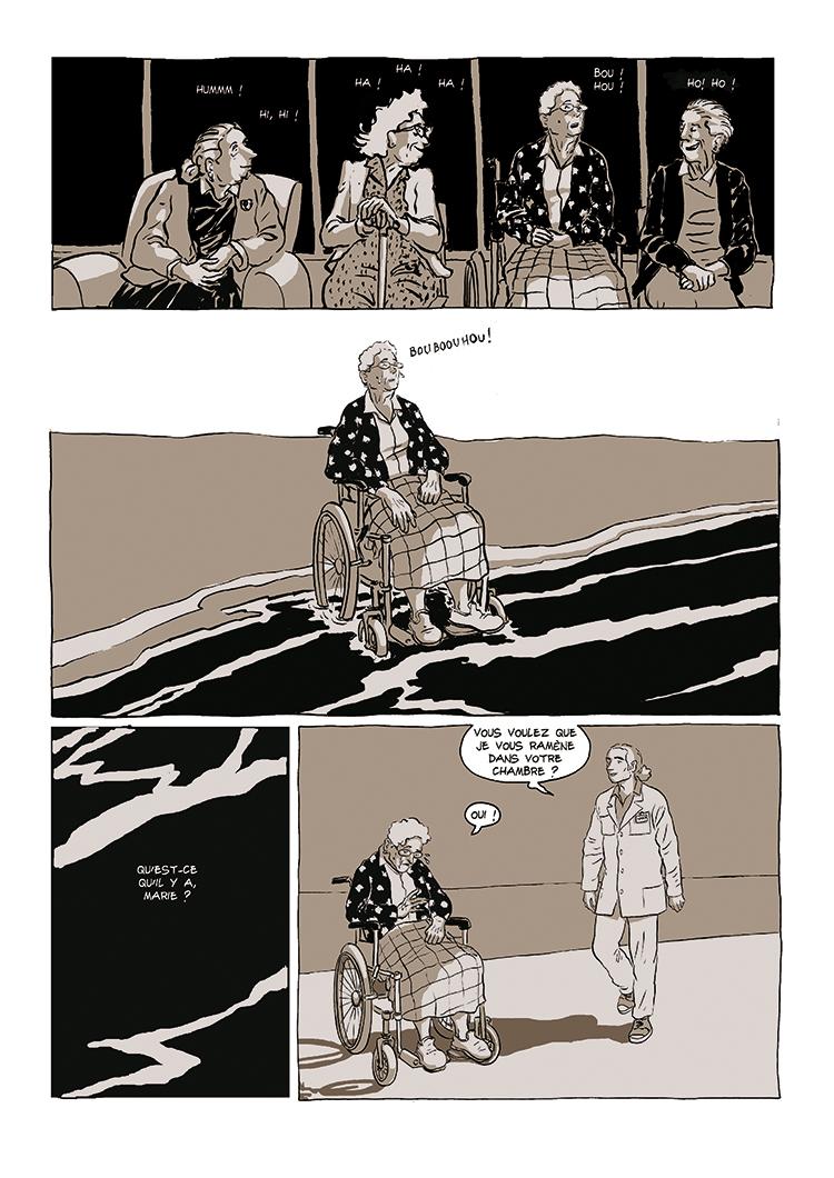 Extrait n°1 de la bd Dolorès par Bruno Loth