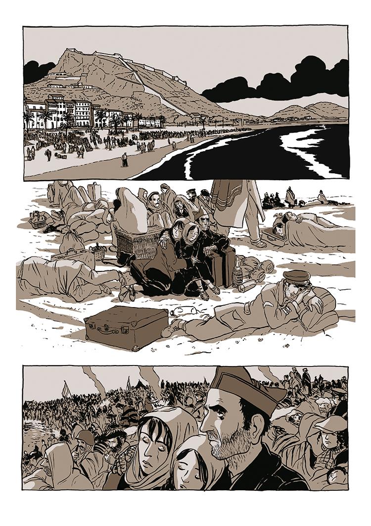 Extrait n°2 de la bd Dolorès par Bruno Loth