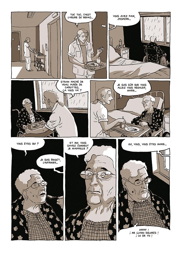 Extrait n°3 de la bd Dolorès par Bruno Loth