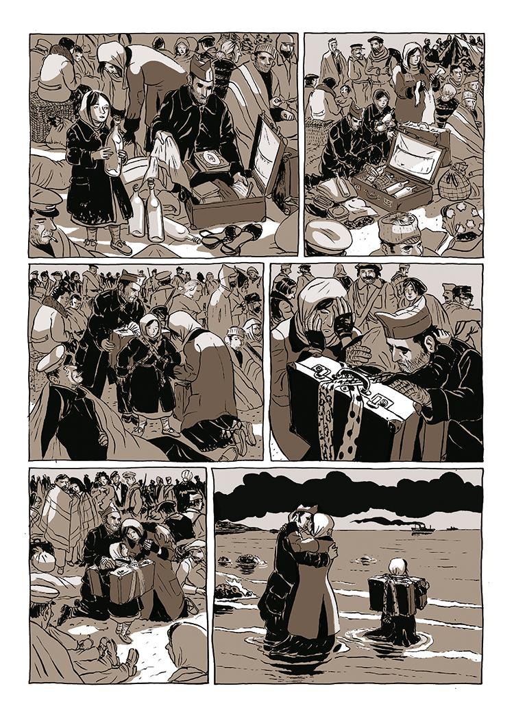 Extrait n°4 de la bd Dolorès par Bruno Loth
