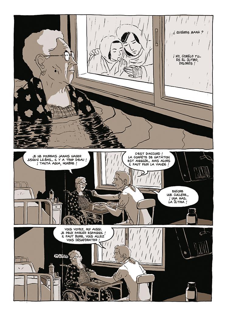Extrait n°5 de la bd Dolorès par Bruno Loth