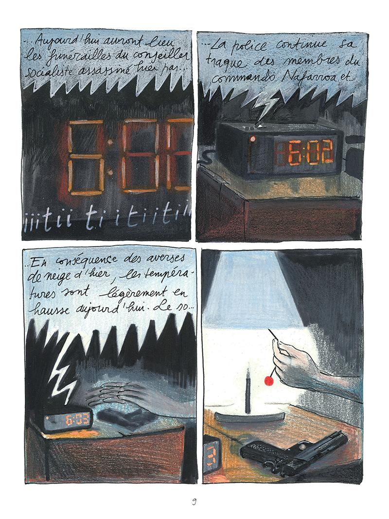 Extrait n°6 de la bd par Mark Bellido