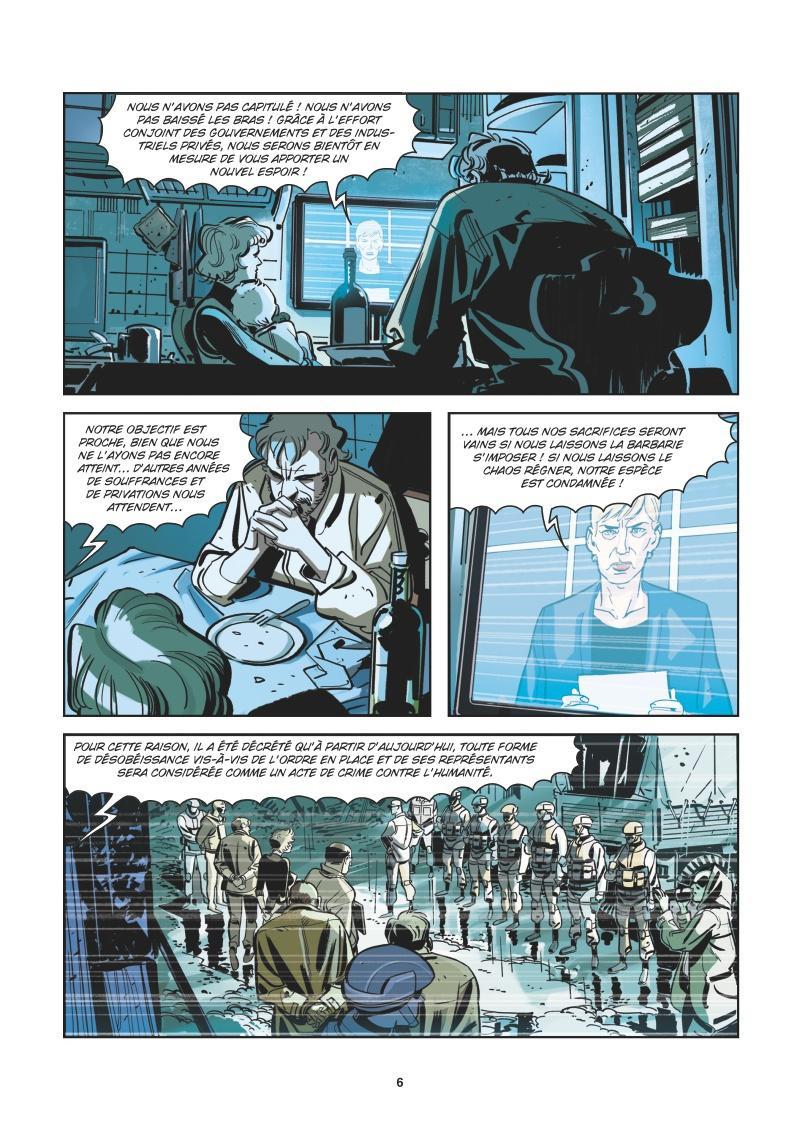 Extrait n°2 de la bd tome 5 par Roberto Recchioni