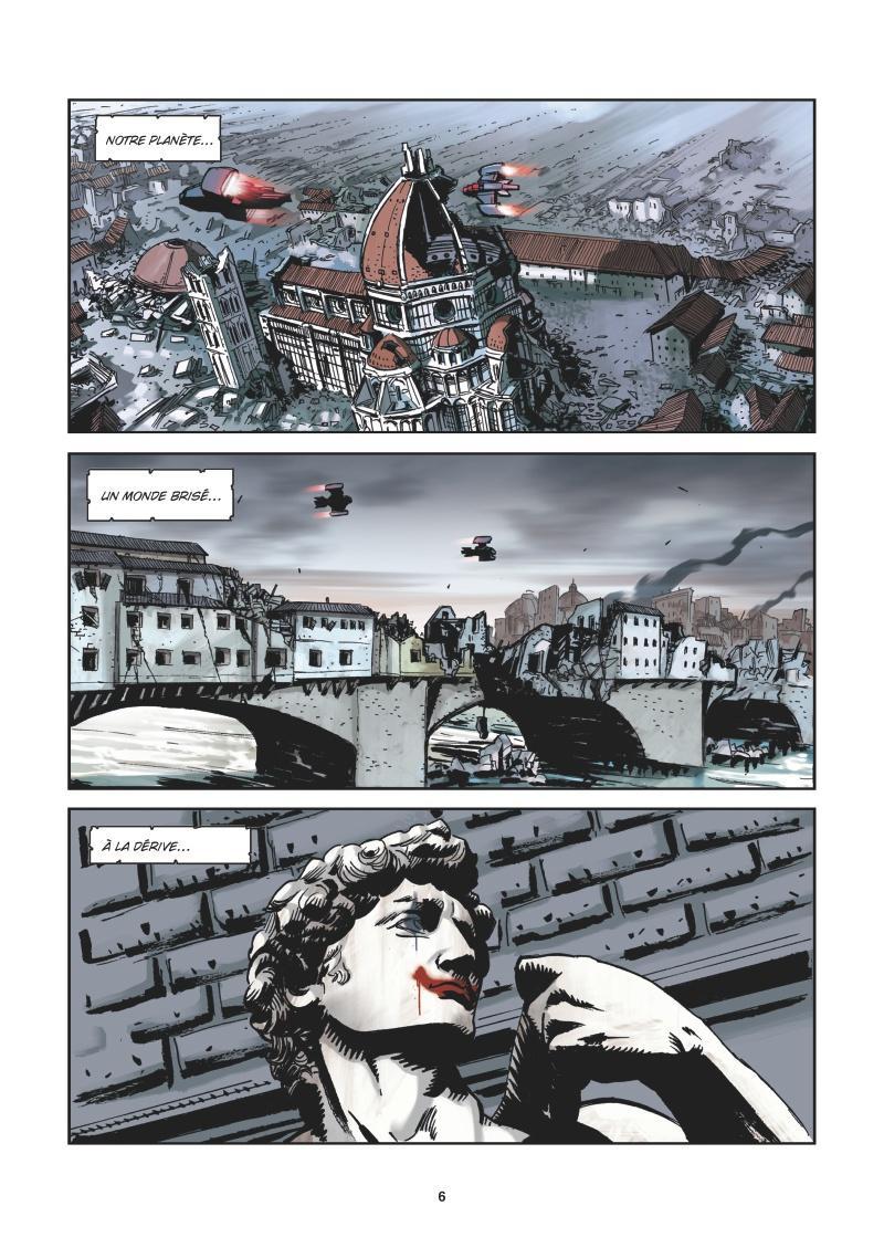 Extrait n°2 de la bd tome 6 par Roberto Recchioni