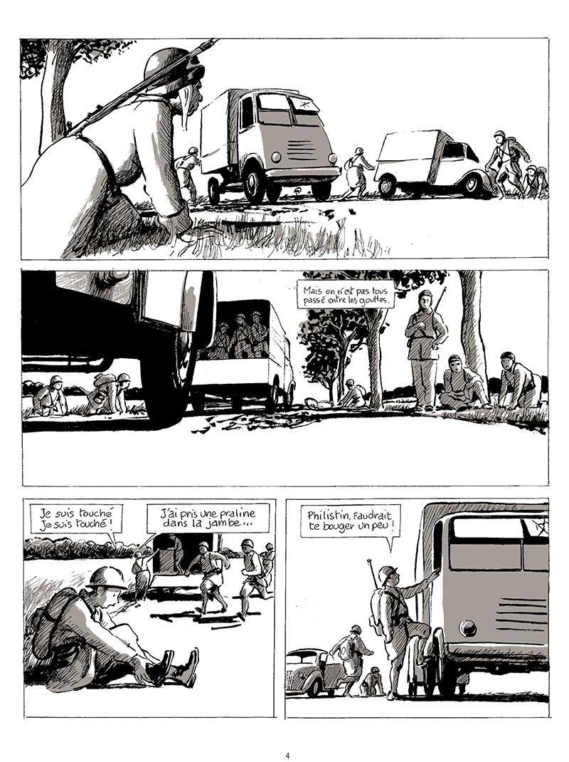 Extrait n°2 de la bd tome 1 par Pascal Rabaté