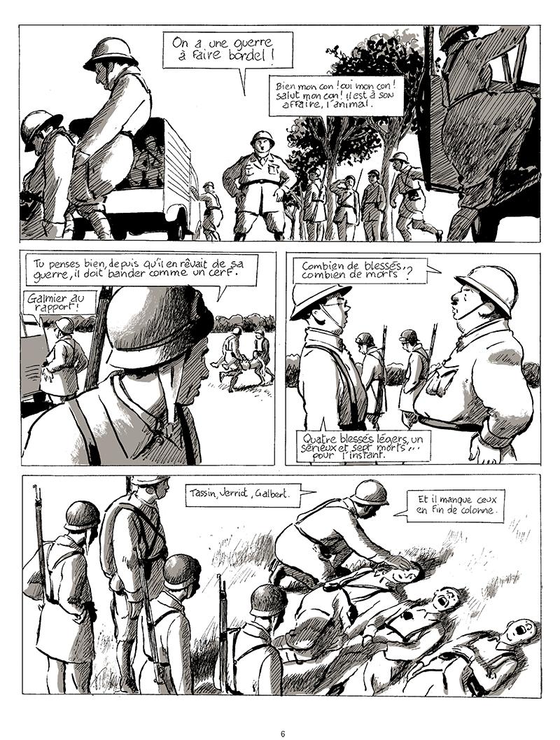 Extrait n°4 de la bd tome 1 par Pascal Rabaté