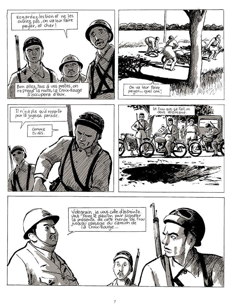 Extrait n°5 de la bd tome 1 par Pascal Rabaté