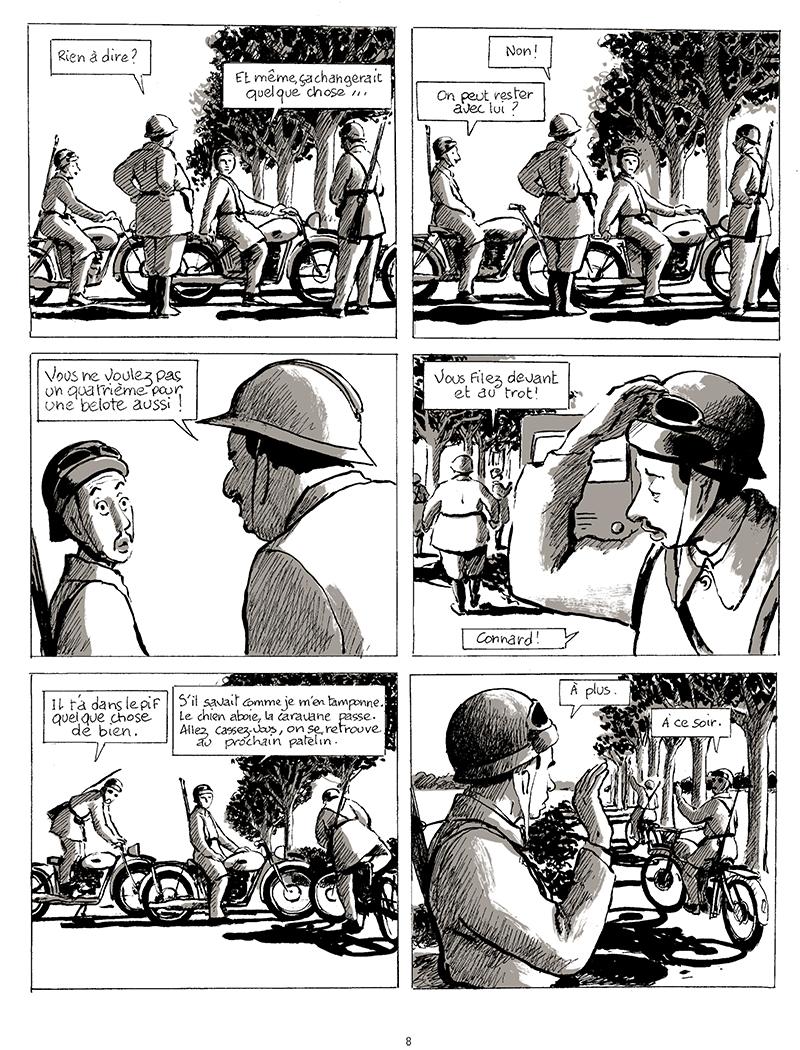 Extrait n°6 de la bd tome 1 par Pascal Rabaté