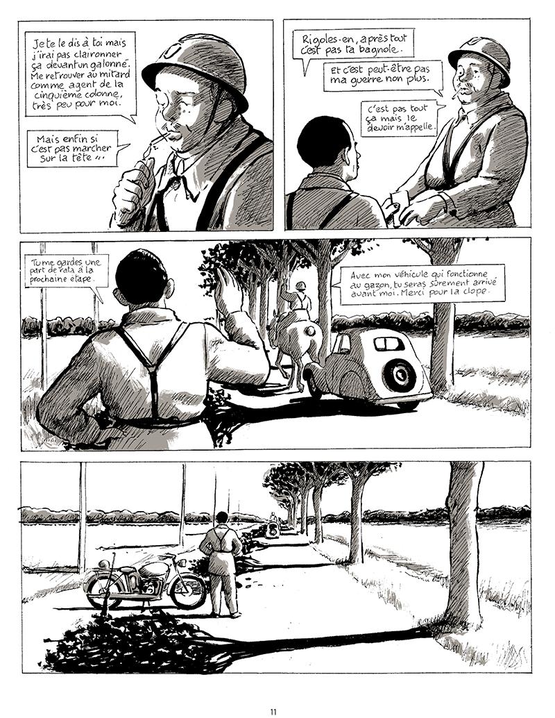 Extrait n°9 de la bd tome 1 par Pascal Rabaté